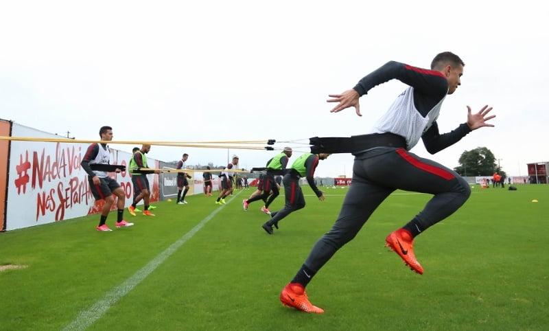 Com Guto Ferreira no comando, Inter treina para enfrentar o Ju