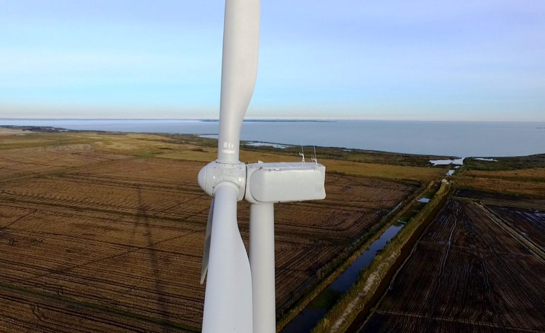 Rio Grande do Sul ganha novo parque eólico em Águas Claras, Viamão