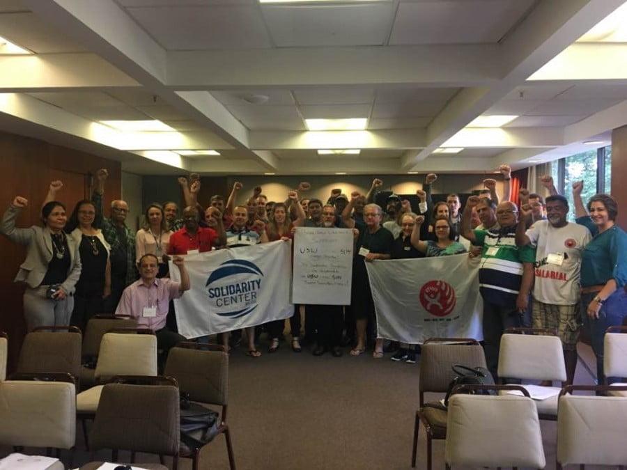 STICC participa de encontro da Frente Nacional dos Trabalhadores da Construção Civil