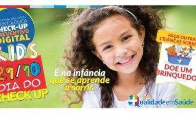 Campanha Check-up Kids- Doe Brinquedos e Ganhe Sorrisos | Por Dra. Márcia Fernandes