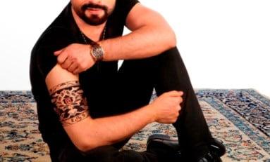 Tapeçaria persa ganha versão à flor da pele| Por Edith Auler