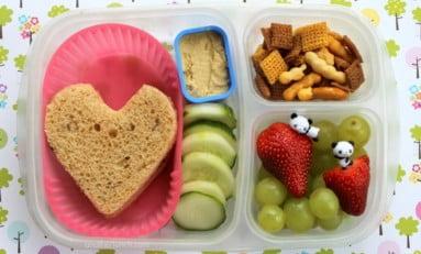 Escola é lugar de lanches nutritivos
