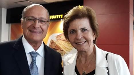 Yeda Crusius recebe Alckmin no primeiro dia do 31º Fórum da Liberdade em Porto Alegre