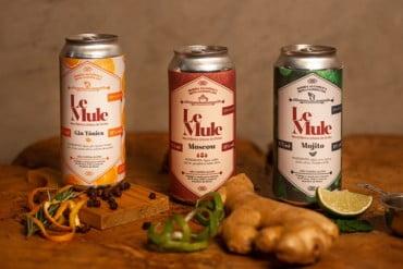 Le Mule lança versão em lata de seus drinks clássicos