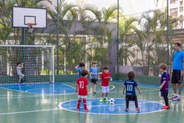Futkids apresenta dinâmica da iniciação do futebol para crianças em condomínios de Porto Alegre e região Metropolitana