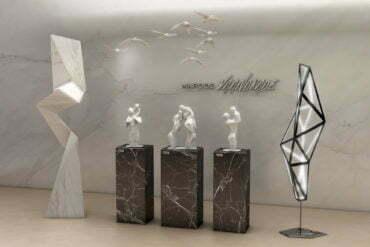Esculturas inspiradas na família ganham lançamento