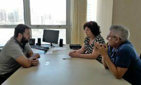 Diretoria do POACVB reúne-se com o secretário do Esporte e Lazer