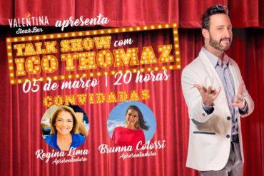 Talk Show reúne bom humor, gastronomia e drinks para comemorar a semana internacional da mulher na zona sul de Porto Alegre