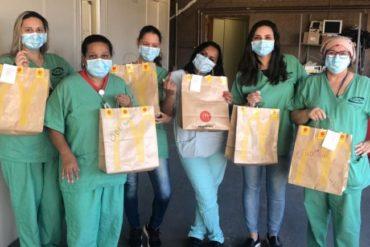 Profissionais de saúde gaúchos ganham refeições em campanha McObrigado