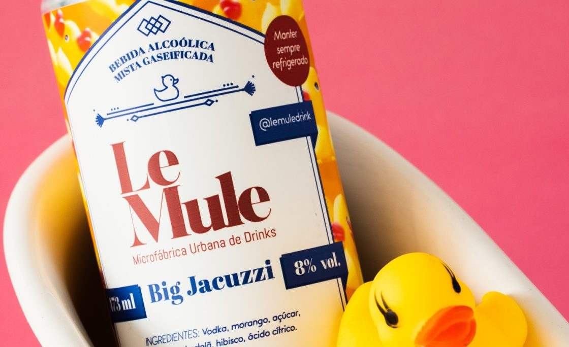 LeMule resgata drink autoral do Kamão Barem novo lançamento