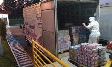 Empresa doa mais de 3 toneladas em doces de festas para onze entidades gaúchas que atendem crianças e adolescentes