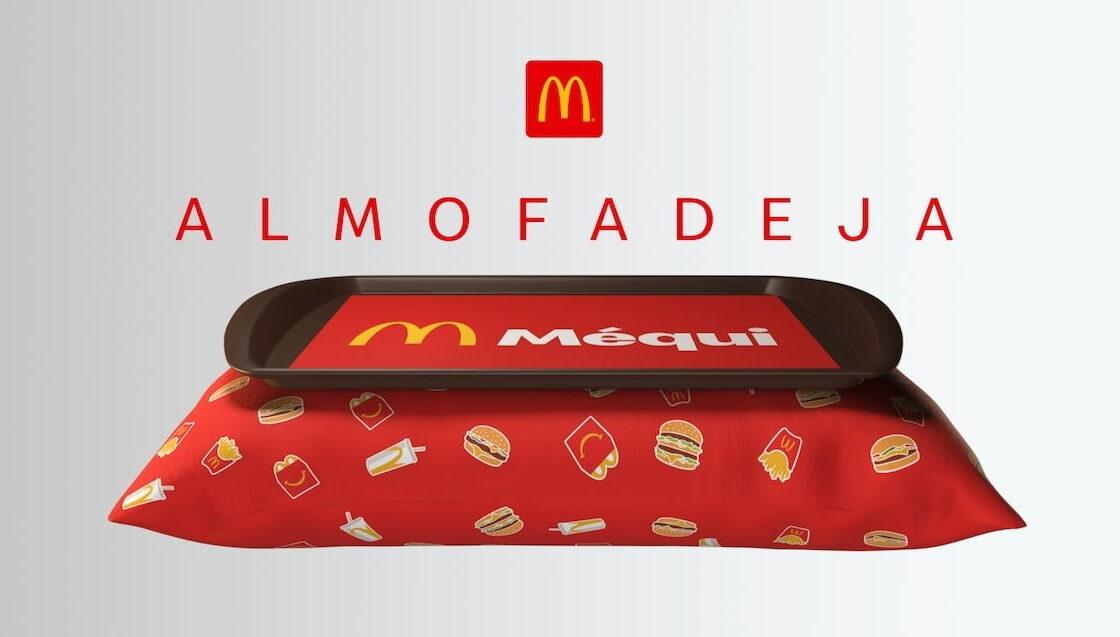 McDonald's cria almofadeja para quem curte #MéquiNoSofá
