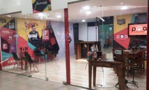 Novo espaço no shopping Total abriga estúdios de filmagens e transmissões ao vivo