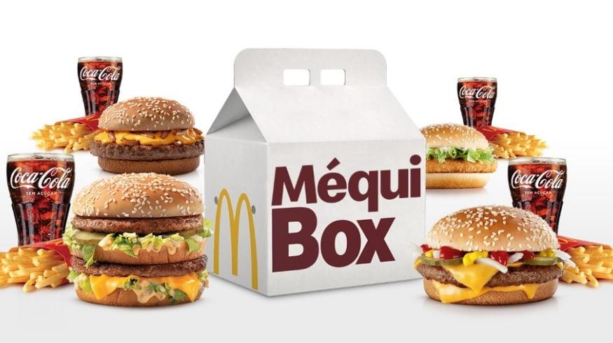 Méqui Box um novo jeito mais fácil e econômico de consumir Mcdonalds