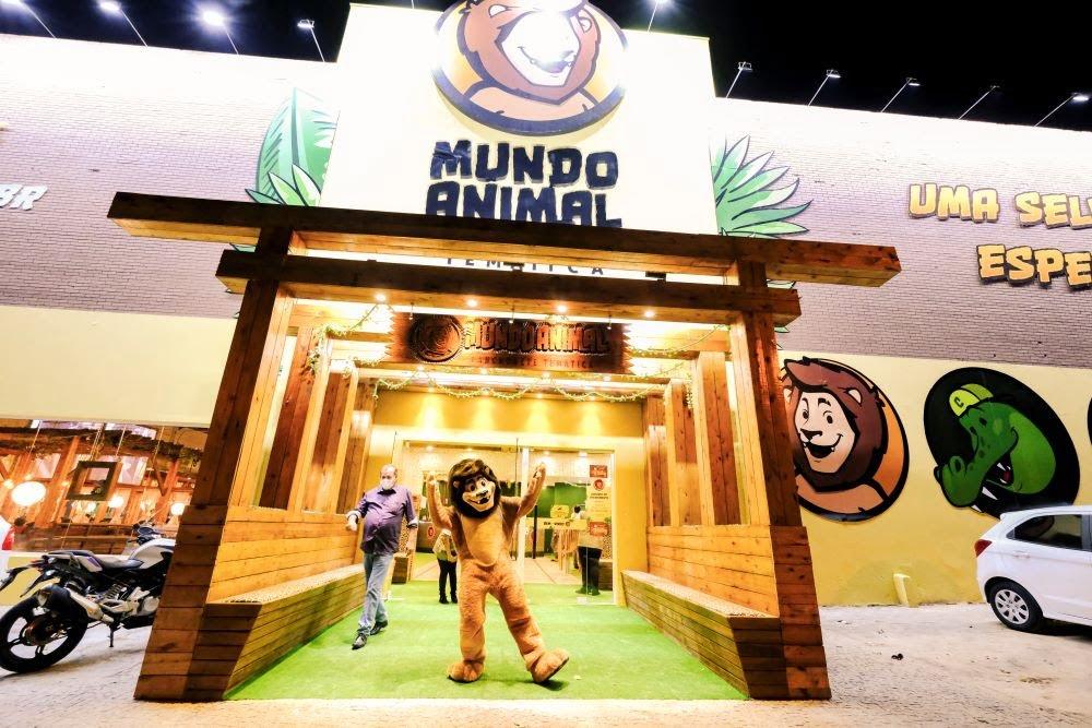 Lanchonete temática Mundo Animal inaugura em Viamão