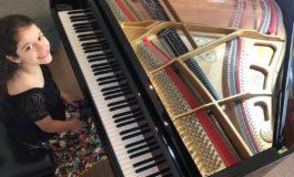 Aos 9 anos, pianista Olívia Tebaldi mostra seu talento precoce em recital virtual e gratuito