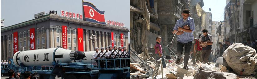 Coreia do Norte e Síria, bastiões de poder e descasos humanitários | Dilmar Isidoro