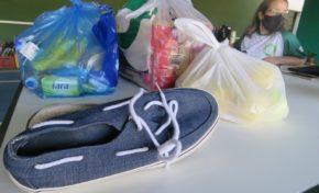 WimBelemDon, projeto social que envolve famílias em situação de vulnerabilidade social de Porto Alegre, garantiu entrega de cestas básicas e kits de higiene e limpeza para o mês de abril para famílias atendidas pela ONG