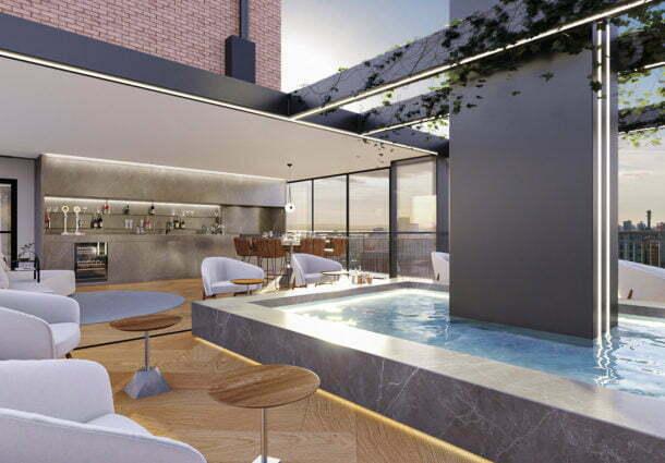 Tomasetto Engenharia apresenta em pré-lançamento o moderno e alto padrão Tribeca Residences