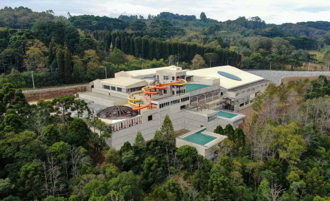 Gramado Parks inaugura em junho, o Acquamotion, primeiro parque aquático indoor, com águas termais, da América do Sul, em Gramado, RS