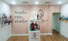 Exposição de bonecos Sonhe, Crie e Realize
