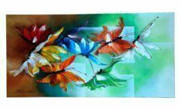 Borboletices, série da artista plástica Ilse Ana Piva Paim, tem visitação prorrogada até o dia 25 de setembro